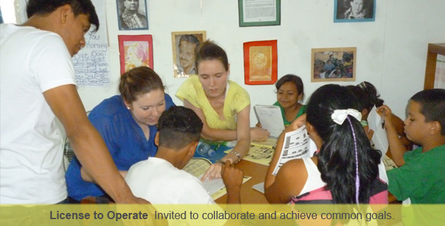 License to Operate – Compañeros has been invited by communities to work with them and collaborates with, not sidesteps, Nicaraguan public, private, and non-governmental organizations to achieve common goals with a public purpose.